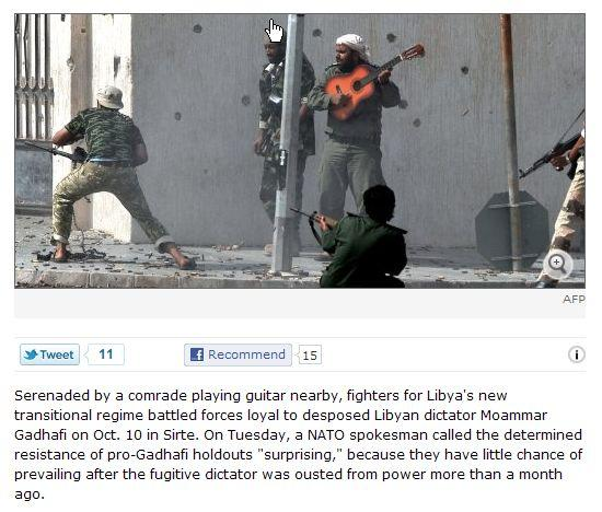 Spiegel picture of Libyan rebels fighting